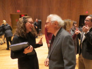 Me and Sheldon Harnick