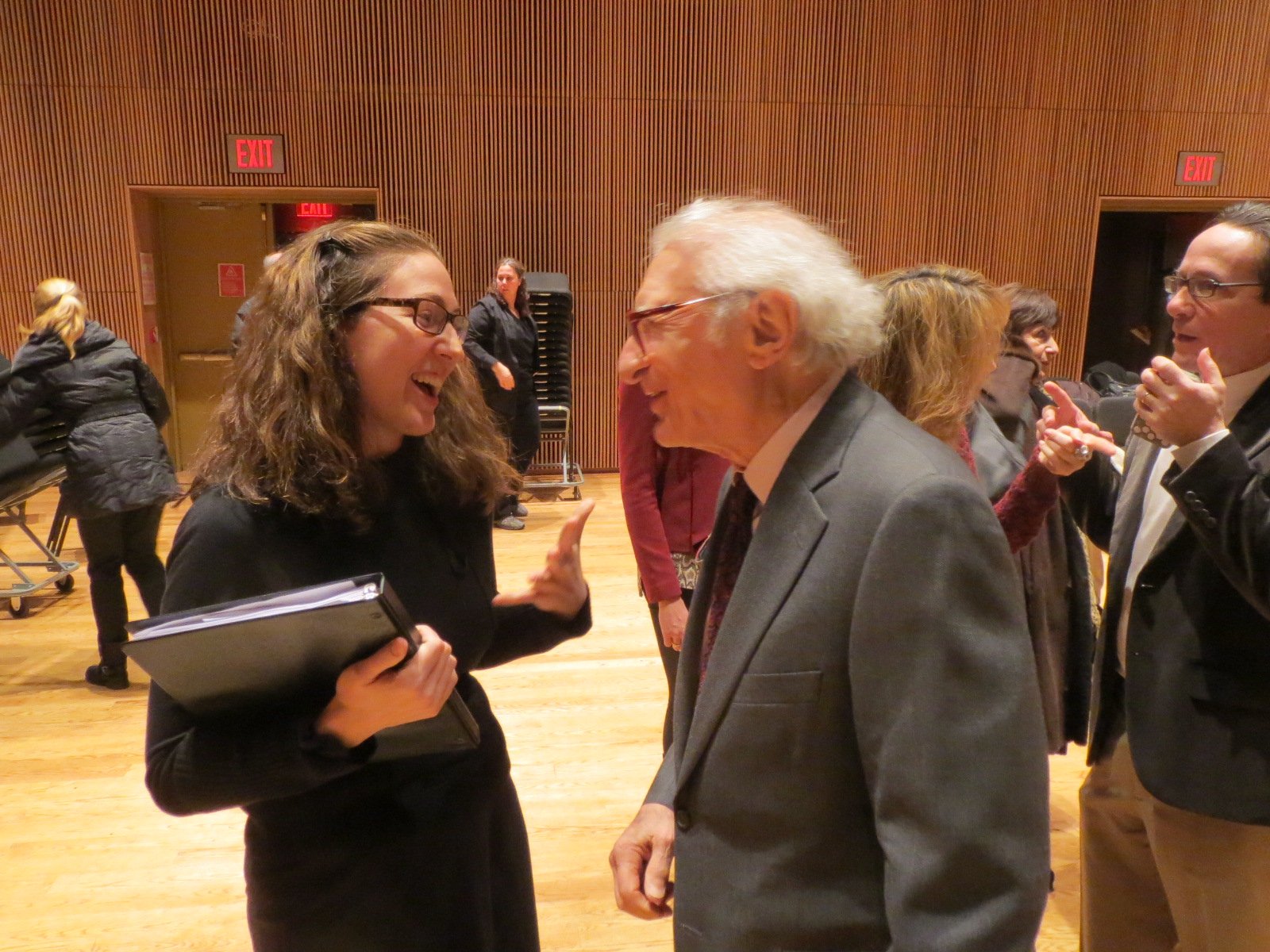 Me and Sheldon Harnick